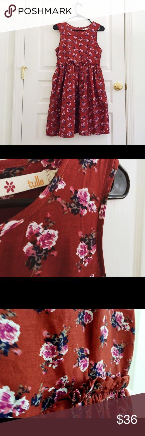 Selling this Modcloth Tulle floral ruffle retro mod dress on Poshmark! My username is: wanderlust83. #shopmycloset #poshmark #fashion #shopping #style #forsale #ModCloth #Dresses & Skirts