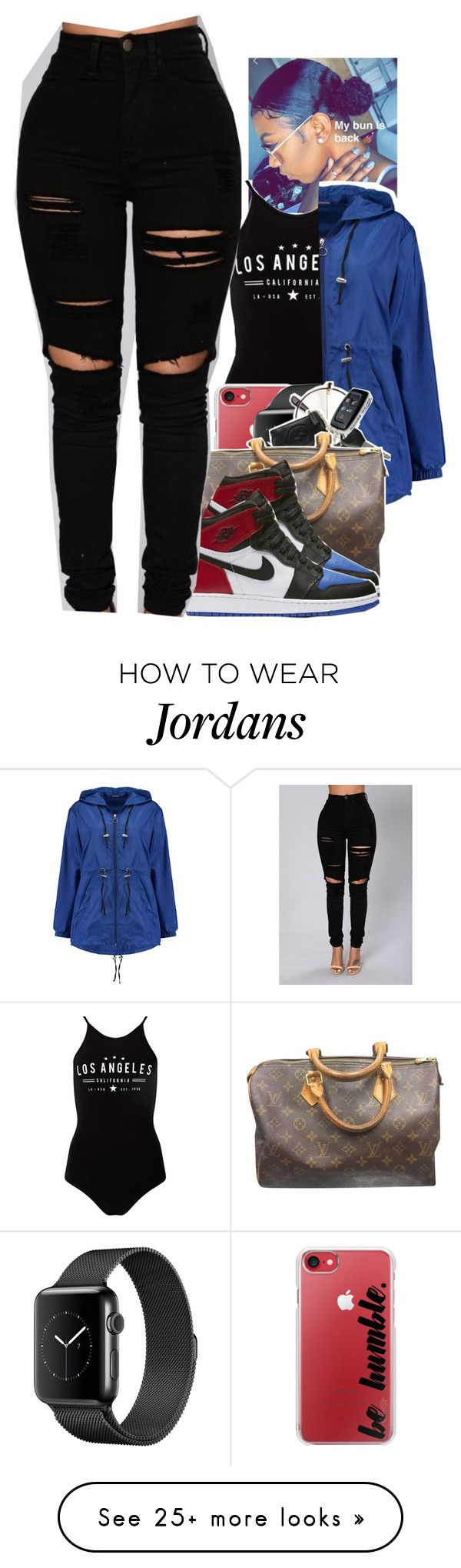 """Untitled #2081"" by toniiiiiiiiiiiiiii on Polyvore featuring Miss Selfridge, Casetify, Boohoo, Louis Vuitton and NIKE"