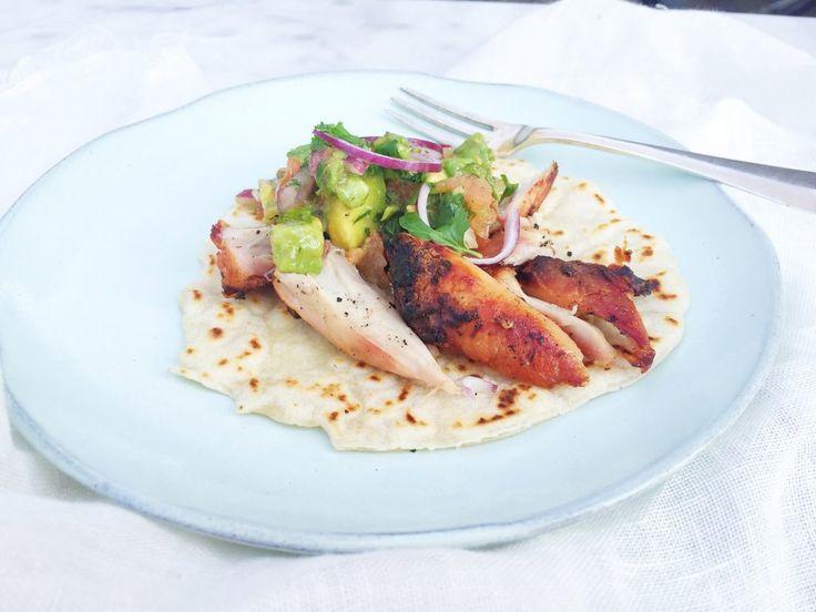 Kip wraps maken - gezond recept made by ellen