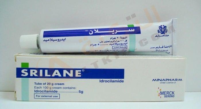 دواء سريلان Srilane كريم لعلاج آلام الظهر والرقبة الكريم يعتبر مضاد حيوي ويساعد في علاج آلام الظهر والرقبة اللذان يتسببان في ألم ش Personal Care Cream Merck