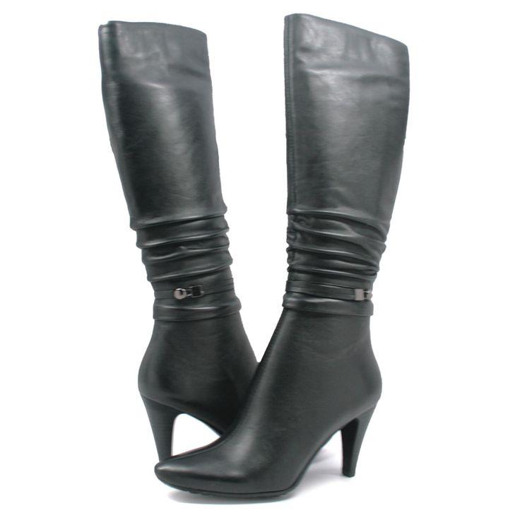 Black dress boots size 12