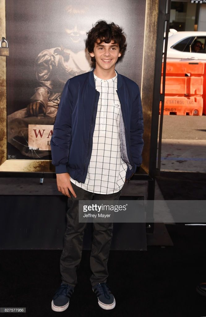 Actor Jack Dylan Grazer attends the premiere of New Line Cinema's 'Annabelle: Creation' at TCL Chinese Theatre IMAX on August 07, 2017 in Los Angeles, California.
