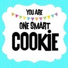 """Cute """"tag"""" to use for student incentives, back to school favors, classroom prizes, etc.  (cookies not included) - lol...."""