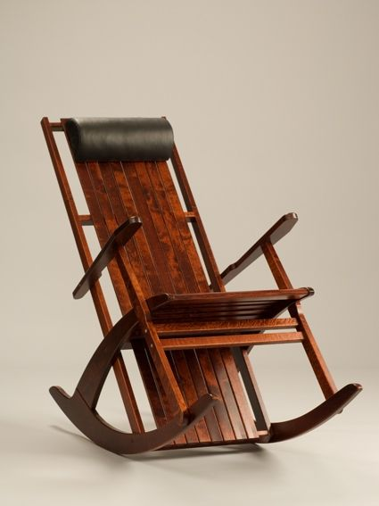 wooden rocking chair from called fuuga