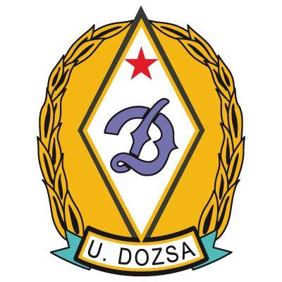 UJPEST FC  old logo DOZSA