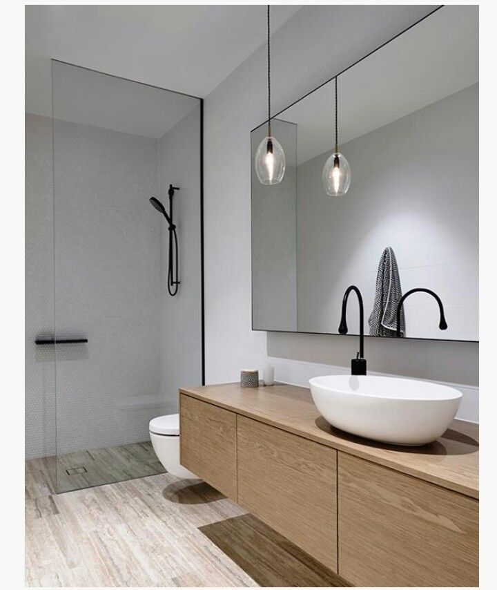 Contemporary Bathrooms Are All About Minimalism. Although It Might Look  Expensive, This Look Is