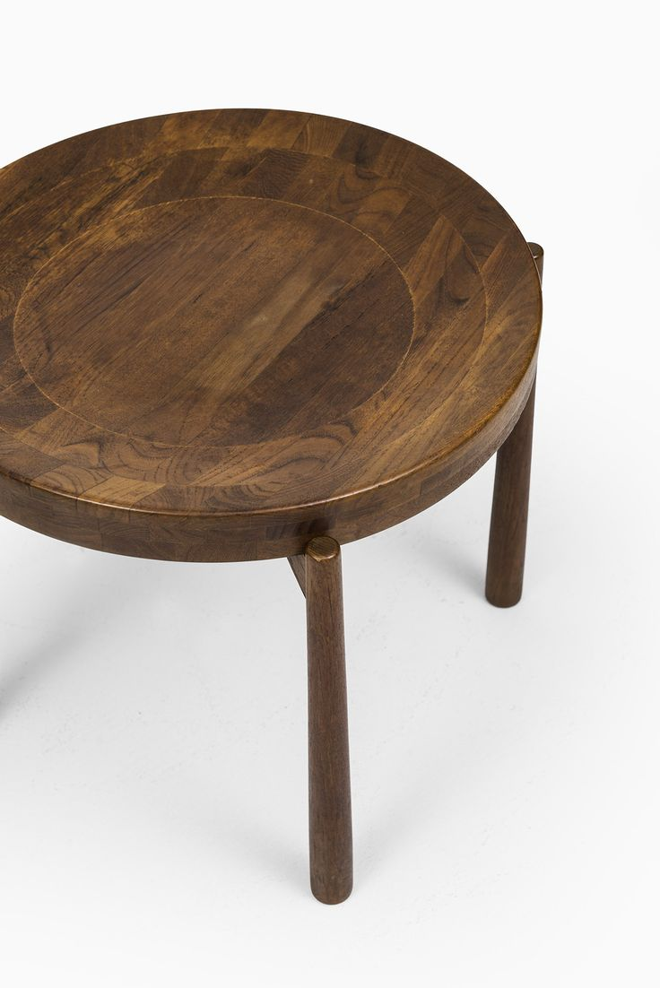 Mobilia design coffee and side tables - Jens Quistgaard Side Tables In Teak At Studio Schalling