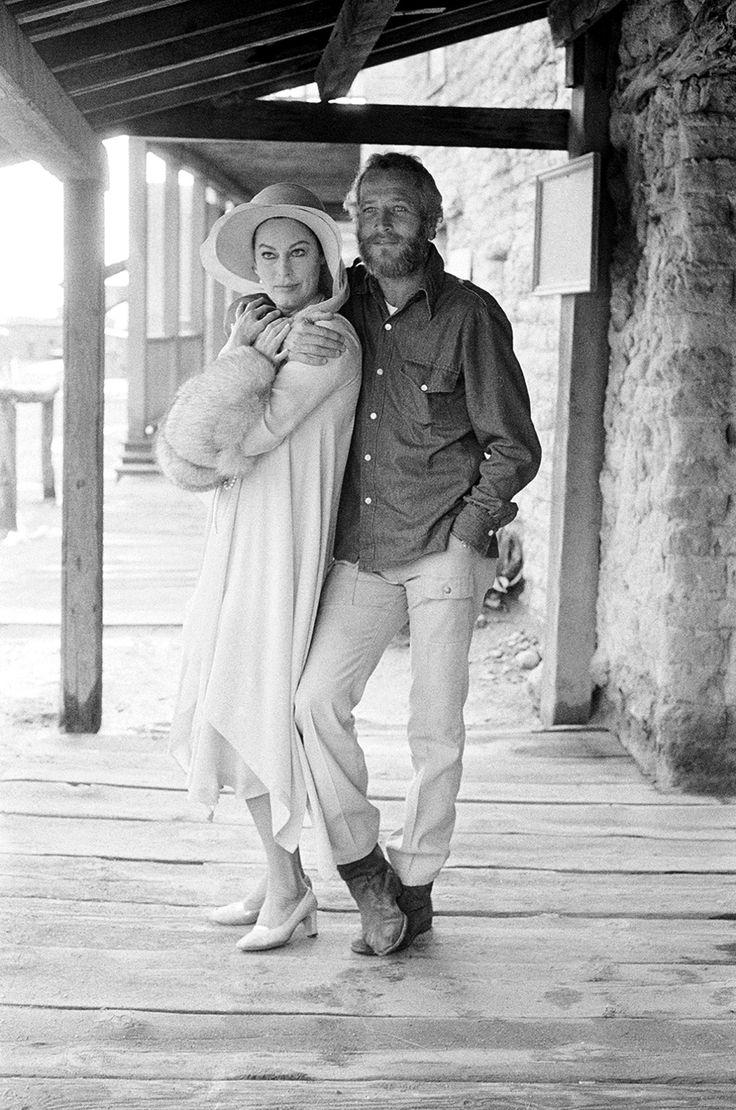 Paul Newman and Ava Gardner, 1972.