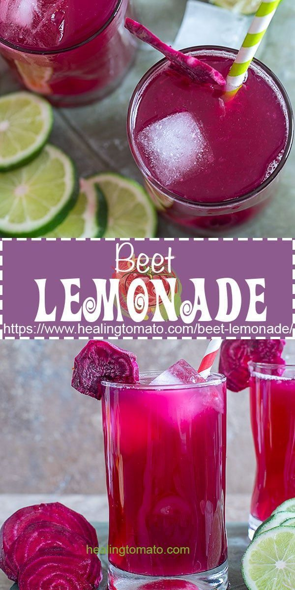 Beet Lemonade Recipe Beets Beet Recipes Lemonade