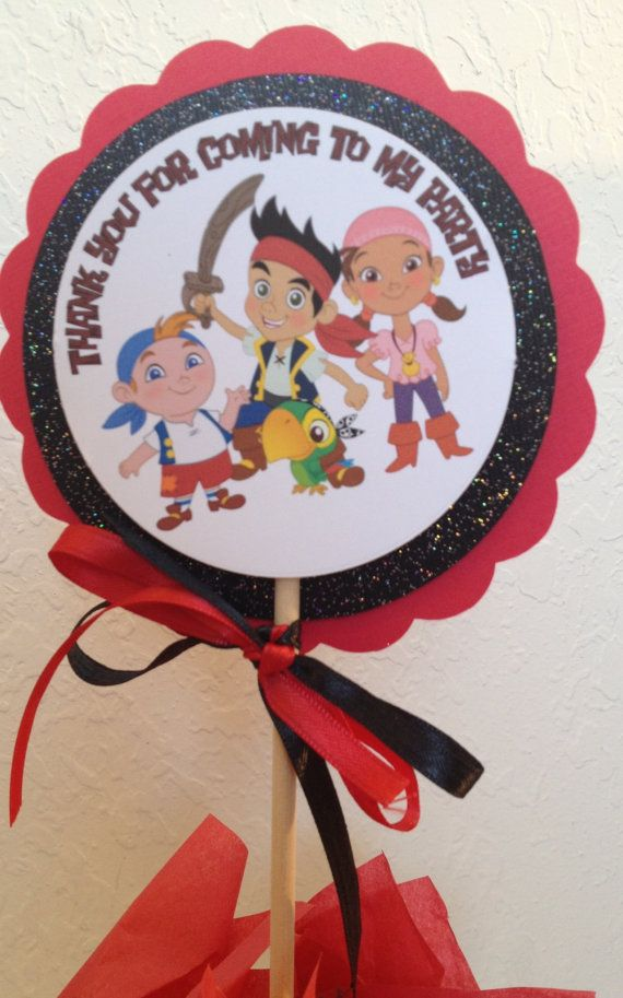 Jake the neverland pirates centerpieces , jake centerpieces on Etsy, $3.95
