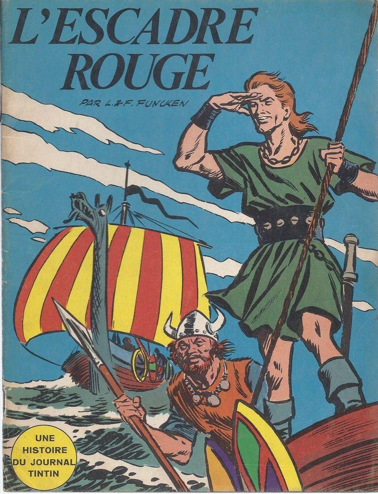 BD Harald LE Viking L'Escadre Rouge E O 1967