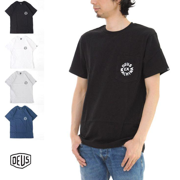 デウス エクス マキナ Deus ex Machina Tシャツ ロゴ 半袖 Tシャツ DMA51995【LOGO クルーネック カットソー プリントTシャツ ポケットT ロゴT ショートスリーブ ブランド】 532P16Jul16