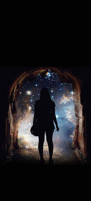 Stepping through portals into other possibilities is attainable when the mind is open to all possibilities