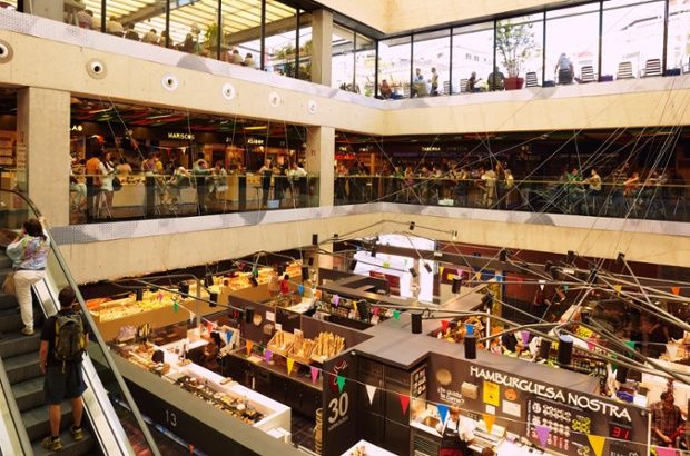 Mercado San Anton - Madrid, Spain