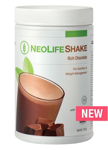 Rich Chocolate - A delicious and convenient shake to help satisfy hunger while giving you lasting energy. Based on the science of cellular nutrition & GR2 Control Technology for daily nutrition and weight management.