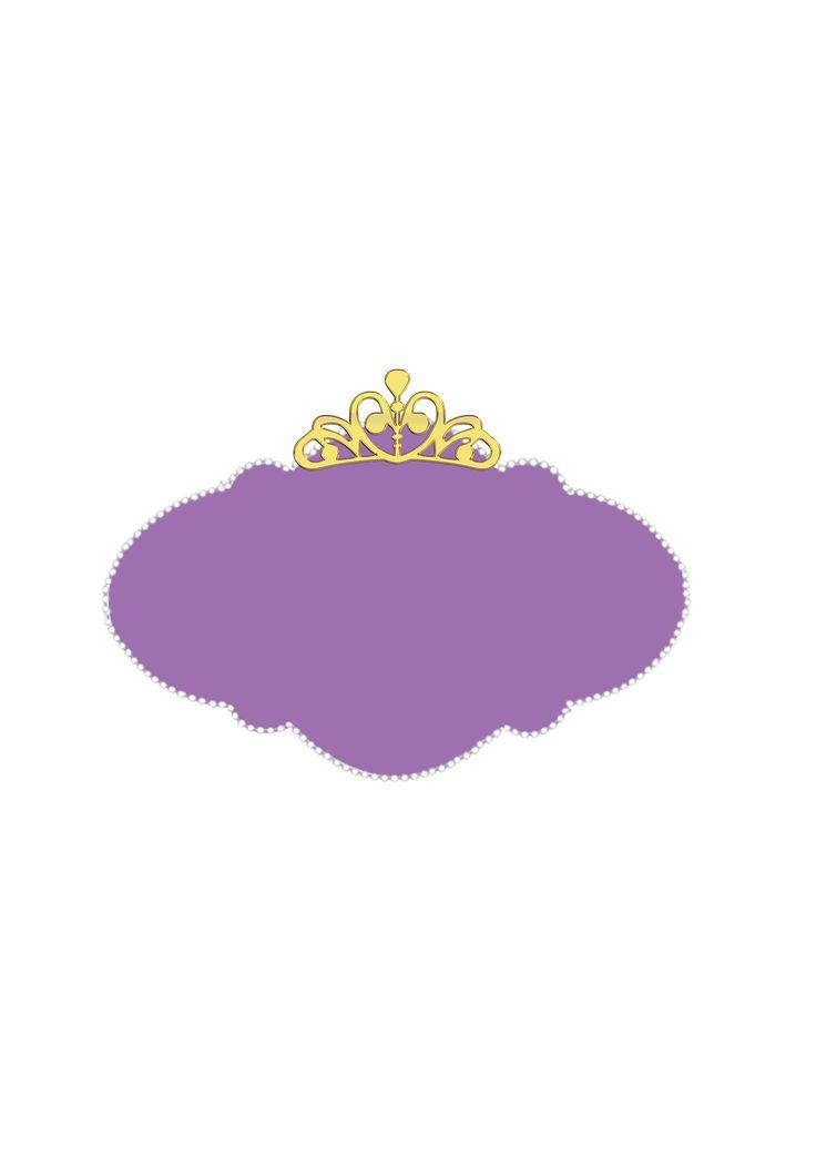Lindo Kit Completo Digital para você imprimir em casa de graça com mais de 100 rótulos,imagens e convites da Princesa Sofia da Disney!