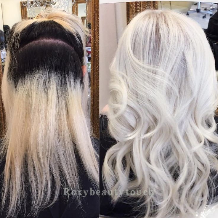 """4,000 Likes, 54 Comments - RoxyBeautyTouch (@roxybeautytouch) on Instagram: """"Another transformation root level 3. Details ✖️first @olaplex #2 all over her blonde ✖️second I…"""""""
