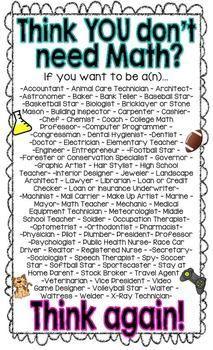 25+ best ideas about Math Poster on Pinterest | Math division ...