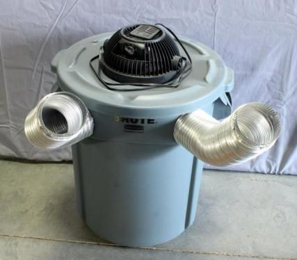 Portable Redneck Air Conditioner, Add Ice, Turn on Fan