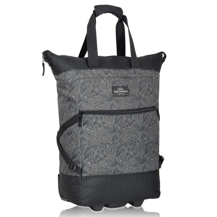 Einkaufstrolley XL Damentasche Keanu Shopping WHEEL Trolley Einkaufskorb Schwarz | eBay