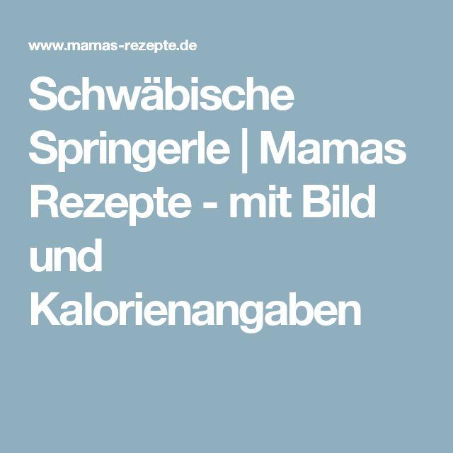 Schwäbische Springerle | Mamas Rezepte - mit Bild und Kalorienangaben