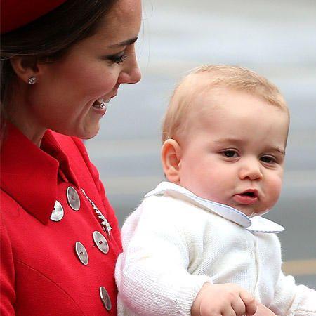 Prinz George-Bilder: So klein und schon so ein Mienenspiel! Wir zeigen die Gedanken hinter den vielen Gesichtsausdrücken des kleinen royalen Babys.