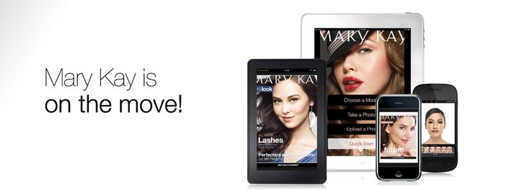 Want to test new looks? Download the new Virtual Makeover app for your tablet or mobile device. marykay.com/kristen.hagen