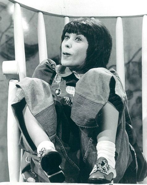Lilly Tomlin as Edith Ann, on her 1975 TV special