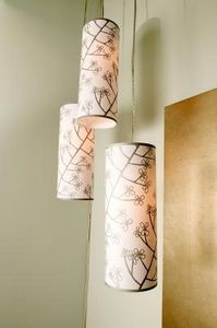 Converting pendant light to a plug in light: Pendants Lamps, Swag Lamps, Fabrics Lampshade, Homemade Pendants, Lampshades Ideas, Diy Swag, Pendant Lights, Pendants Lights, Hanging Lamps