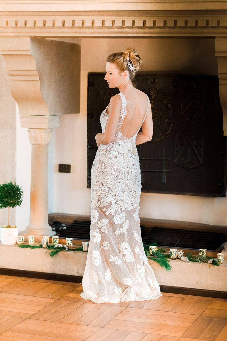 Glamouröse Winter Hochzeitsinspiration Photography: Anna Zeiter  Dress: Catharina Metzler Modedesignatelier