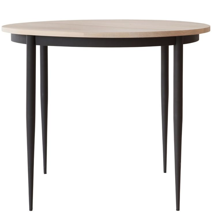 Spindle Dining Table Round 900mm