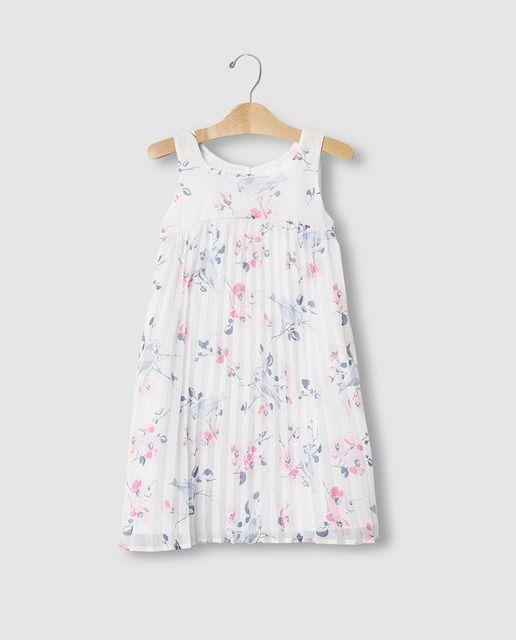 Vestido de niña Gap con flores