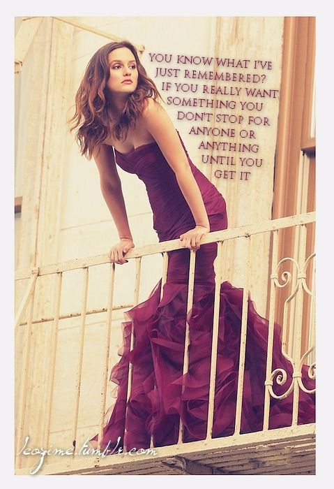 little miss Leighton Meester love her style and her character on gossip girl she's great!