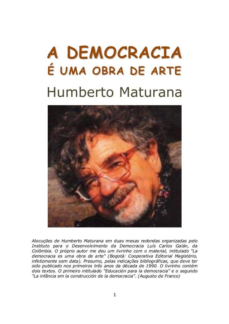 A democracia é uma obra de arte