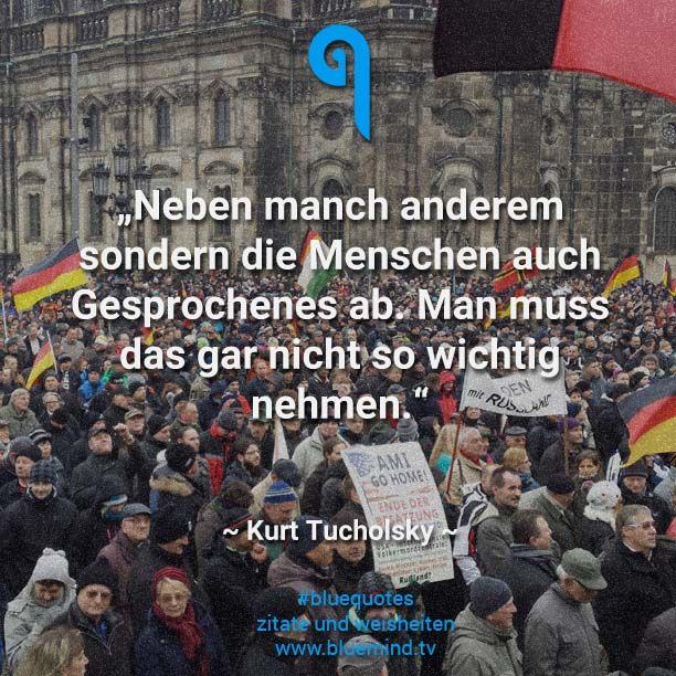 Die besten Kurt Tucholsky Zitate