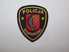 Poland Wabrzezno City Police Patch