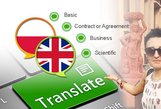 translate up to 1k english words to polish or vice versa