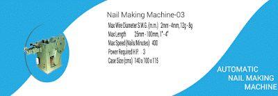 Wire Nail Making Machine: Concrete Nail Making Machine | Wire Nail Machine-0...