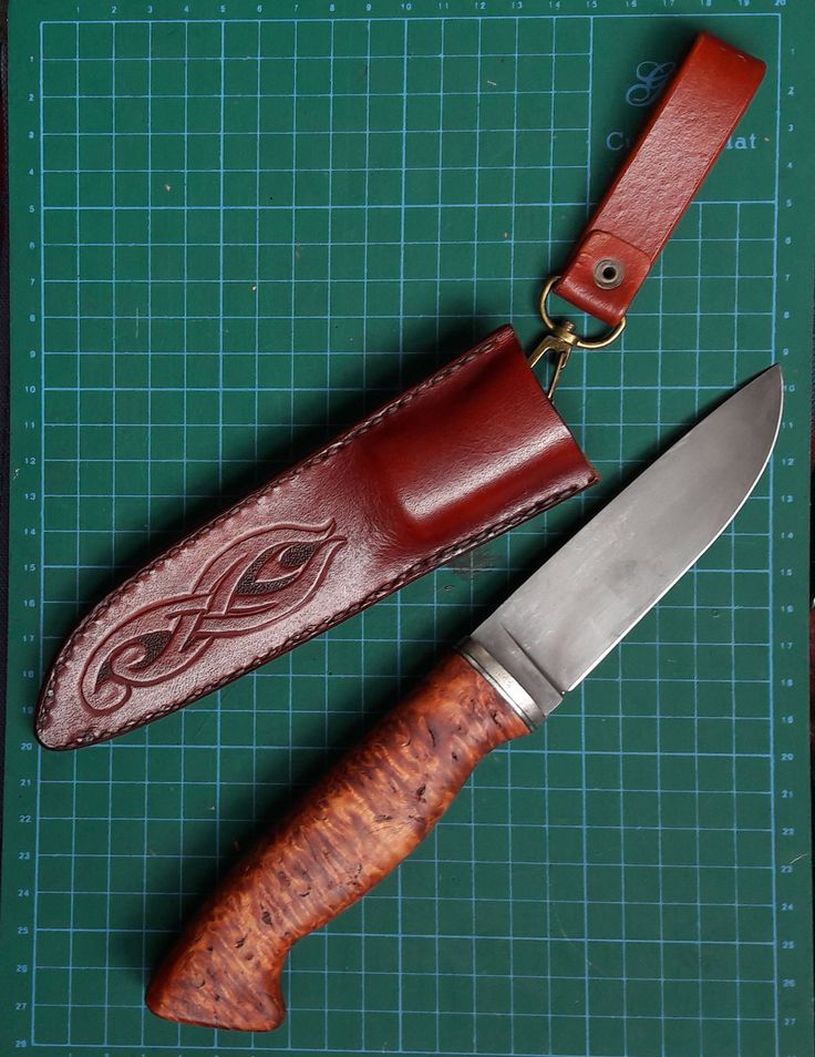 handcrafted leather sheath