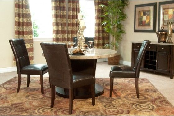 Mor Furniture For Less Danville White Dining Room
