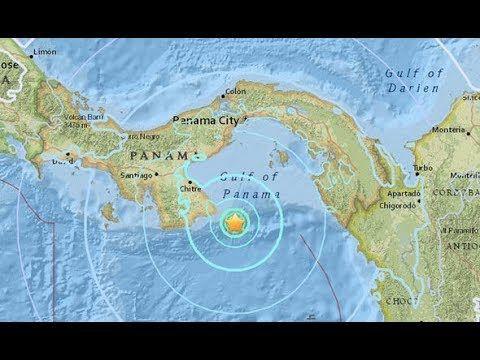 Earthquake ROCKS Panama- 'very strong' shaking in capital city