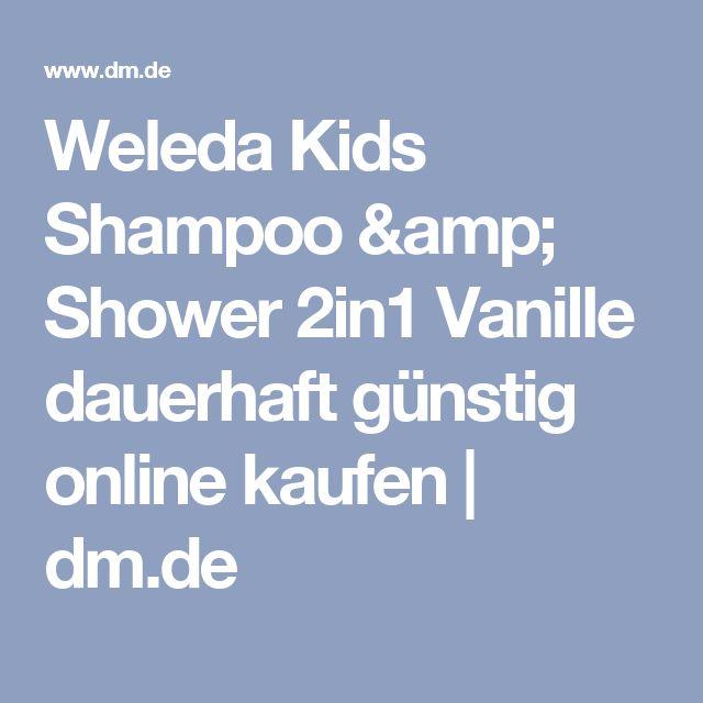 Weleda Kids Shampoo & Shower 2in1 Vanille dauerhaft günstig online kaufen   dm.de