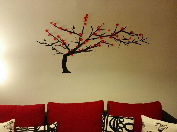 Wall tree sticker