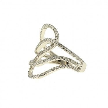 Craft your Style with this beautiful sterling silver fancy ring