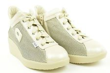 p15 Agile by Ruco Line scarpe donna sneakers con zeppa ARGEGNO JAPAN 226 beige