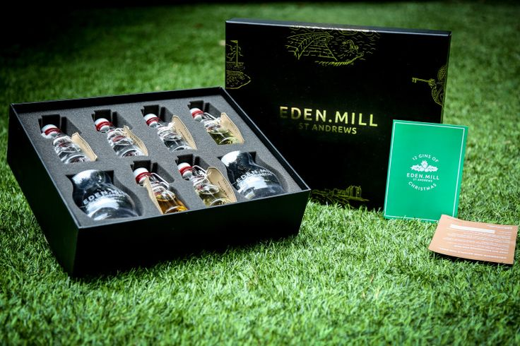 Behold this – the 12 Gins Of Christmas gift set from Eden Mill. The gift set every gin fan needs.