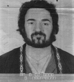 Sutcliffe Prison mugshot 18 april 1990.