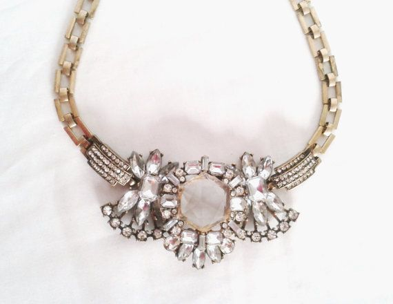 Airforce Bling Statement Necklace by LilyAndEllie.com, $26.00