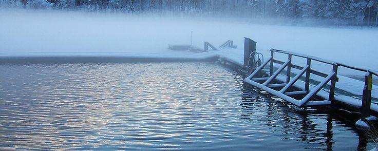 Talviuinti (avantouinti + sauna) Lisäinfoa: http://www.salo.fi/liikunta/liikuntapaikat/ulkoliikuntapaikat/uimarannat/talvi/