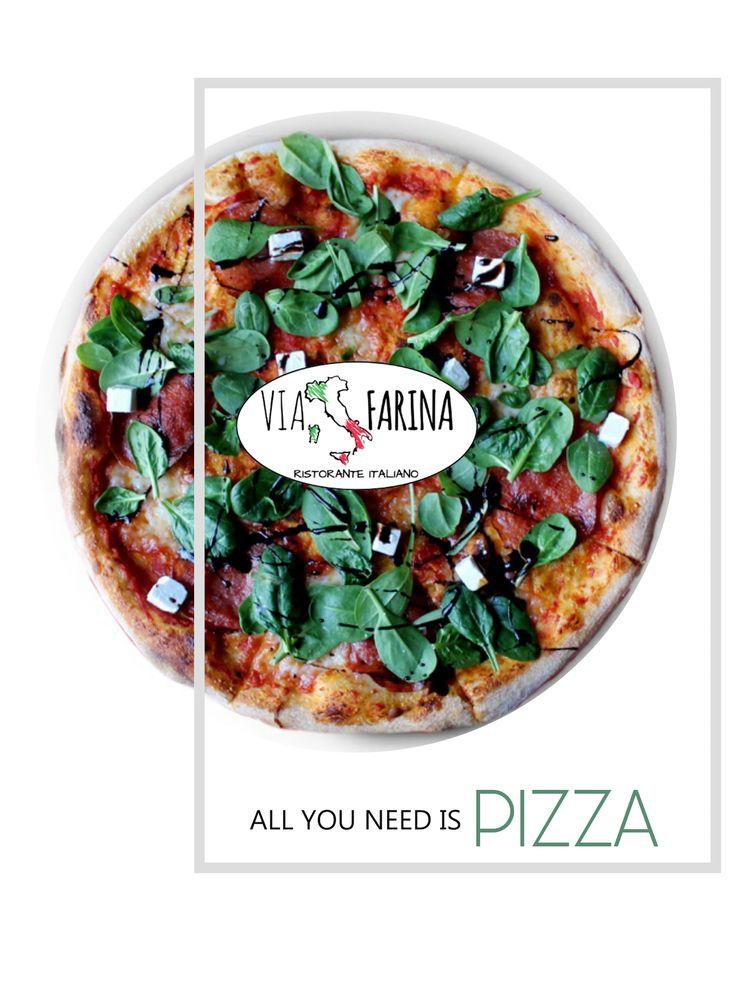 ☛ LUNCH TIME ☚  Co powiecie na taki skład:  sos pomidorowy, włoska mozzarella, świeży szpinak, aromatyczne salami i feta? :)  Szef kuchni poleca ☛ PIZZA SPINACI :) ☛ http://www.viafarina.pl/pizza-neapol/ ☚  Ps. Pamiętajcie, że każde z dań z naszej karty, możecie również zamówić telefonicznie :) DZWONISZ ☛ ZAMAWIASZ ☛ MY PRZYWOZIMY!  Informacje na temat DOSTAWY znajdziesz tutaj ☛ http://www.viafarina.pl/ ☚  ZAPRASZAMY :)  #restauracja #restauracjawłoska #ViaFarina #Niepołomice #Kraków #Pizza